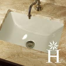 Undermount Rectangular Vanity Sinks 16 X 11 Inch Biscuit Rectangle Ceramic Undermount Vanity Sink