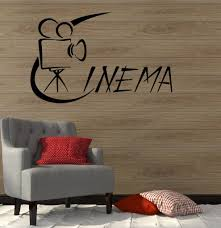 wall stickers and decals buy online wall decorations at cinema films movie theatre art wall stickers vinyl decal ig2115