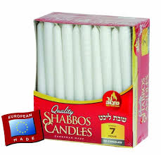 shabbas candles hour european shabbos candles 30 pk