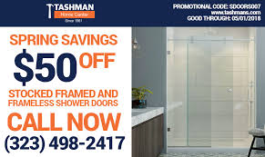 Shower Doors Los Angeles Tashman Home Center Los Angeles