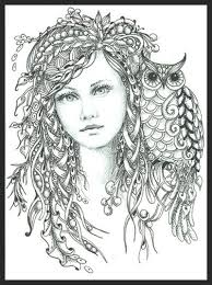 colouring fairies angels art gallery free printable