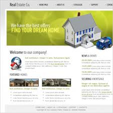 real estate co template free website templates in css html js