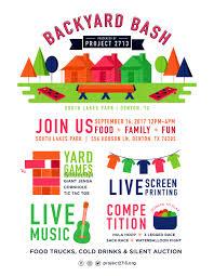 backyard bash u2014 project 2713