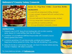 1 hellmans mayonaise exclusive printable coupon casserole