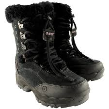 womens warm boots size 12 hi tec womens mens boys boots insulated water