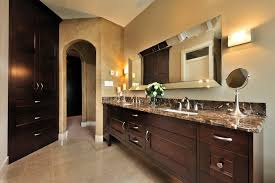 Beveled Mirror Bathroom Beveled Mirror Bathroom Bathroom Transitional With Herringbone