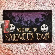 halloween doormat the nightmare before christmas doormat
