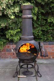 Chiminea On Wood Deck Outdoor Led Spot Light Fixtures Tags Amazing Outdoor Pergola