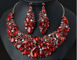 red crystal necklace set images Sandi pointe virtual library of collections jpg