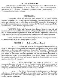 10 free sample escrow agreement templates u2013 printable samples