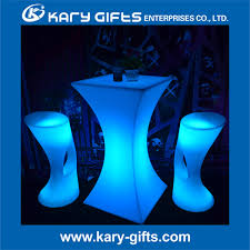 Led Bistro Table Modern Style Sale Led Bistro Table Led Cocktail Table Led Glow
