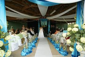 wedding ceremony decoration ideas amazing blue wedding decoration ideas blue wedding