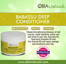 Best Deep Conditioner For Colored Natural Hair Babassu Deep Conditioner Obia Naturals