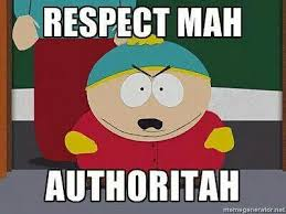 Funny South Park Memes - mah authoritah cartman south park walking dead pinterest