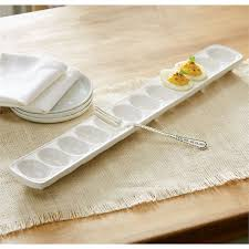 devilled egg plate deviled egg tray set mud pie