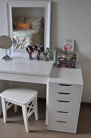 furniture lighted vanity table with mirror and bench walmart