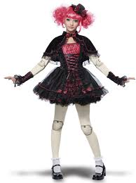 girls halloween costumes tween victorian doll costume buycostumes com
