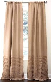 Smocked Burlap Curtains Smocked Jute Curtains Lined Burlap Curtains Smocked Burlap