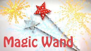how to make a magic wand origami magic wand christmas crafts