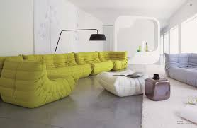 big couches in plain living room interior design ideas