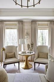 Window Treatment Ideas For Living Room by Stock Image Of A Row Of Three Windows On A White Wall With Ivory