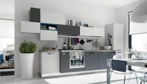 cuisine blanc et meuble de cuisine blanc et gris cuisine en image