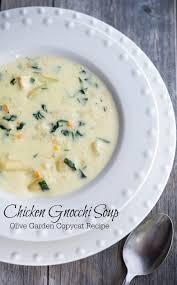 olive garden family style olive garden chicken gnocchi soup copycat carrie u0027s