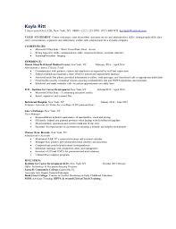 resume administrative skills resume kayla kayla ritt