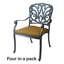 Aluminum Patio Chairs by Stackable Metal Patio Furniture Outdoor Dining Chairs Patio