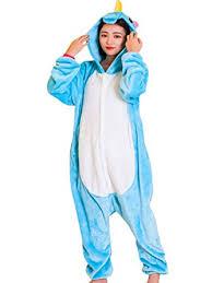 qqonsie pajama unicorn onesie costume