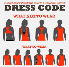 dress code department of wellness