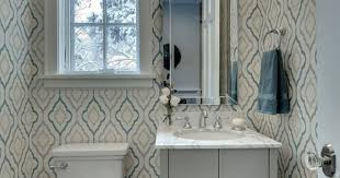 wallpaper designs for bathroom can we wallpaper our bathroom without it peeling totalwallcovering