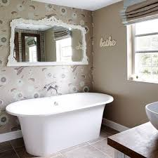 Designer Bathroom Wallpaper Bathroom Beautiful Bathroom Wallpaper Designs And Decor Wayfair