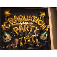 grad party supplies online shop foil balloon kit happy graduate party supply