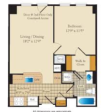 floor plans the ellington apartments the bozzuto group bozzuto