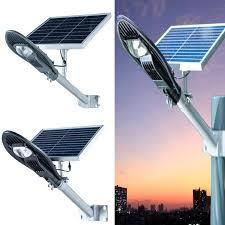 led road light l solar panel light waterproof ip65
