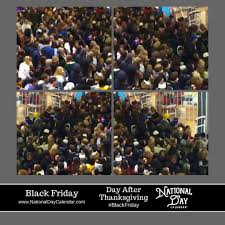 black friday day after thanksgiving national day calendar
