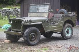 jeep army star willys jeep ford gpw wwii military jeep army unrestored