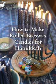 where can i buy hanukkah candles how to make rolled beeswax candles for hanukkah 681x1024 jpg