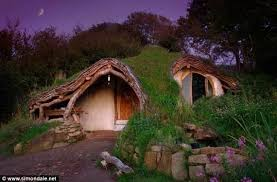 Real Hobbit House | he built a real hobbit house with only 5 000 the inside is amazing