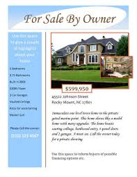 house brochure template 14 free flyers for real estate sell rent