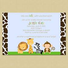 frog baby shower invitations create easy jungle theme baby shower invitations designs