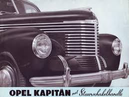 opel kapitan 1939 технические характеристики opel kapitan 1938 40
