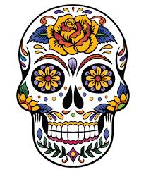 Halloween Skull Drawings Sugar Skull Art Print Day Of The Dead Art Mexican By Printsvariete