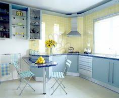 Blue And Yellow Kitchen Ideas Pink Yellow Kitchen Sunflowers Bright Colors Colorful