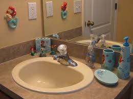 classy little mermaid bathroom set fascinating decoroffice and