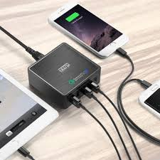quick charge 3 0 usb wall charger multi port 5 port 40w fast
