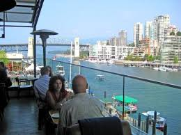Vancouver Restaurants With Patios Famous Rooftop Patio At The Sandbar Seafood Restaurant Vancouver