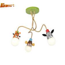 Baby Room Lighting Aliexpress Com Buy Hghomeart Cartoon Animal Led Modern Lighting