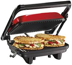 Exborders Hamilton Beach Z Panini Press Gourmet Sandwich Maker